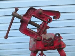 "2 1/2"" Pipe Vise with Stand London Ontario image 3"