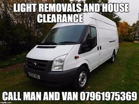 Michael's Handy Van removals and clearance
