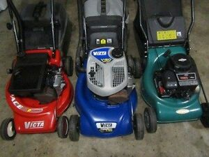 2 & 4 stroke lawn mowers all serviced easy to start from $100 Nicholls Gungahlin Area Preview