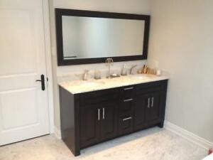 Super Deal! -- New Solid wood Vanity Full Set!!