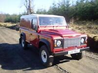 Land Rover 110 Defender 2.4TDCi Hard Top - Heavy Duty Chassis