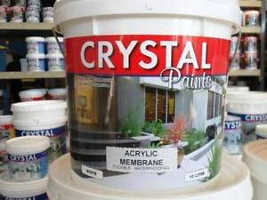 MEMBRANE ACRYLIC WATER PROOFING WHITE 10LT AUSTRALIAN MADE South Kempsey Kempsey Area Preview