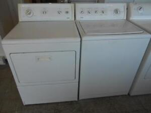 Kenmore set laveuse & sécheuse grande capacité king size/ Kenmore set washer & dryer heavy duty king size capacity
