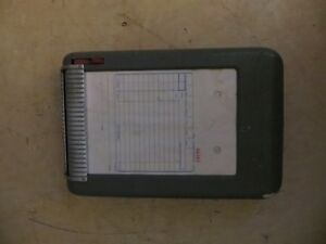 Vintage Moore Portable Receipt Invoice Machine London Ontario image 1
