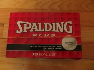 Spalding Plus 15 Golf Balls