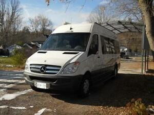 Mercedes Sprinter RV pointed south but needs driver Peterborough Peterborough Area image 2