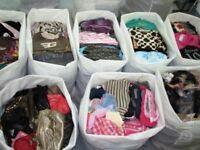 WOMENS & MENS CLOTHES, SHOES & BAGS 150+ ITEMS - JOB LOT £50