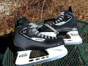 HOCKEY SKATES ,GOALIE/FORWARD NEW/$100. AND OTHERS
