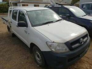 2010 Toyota Hilux Workmate Auto 4x2 MY10 Dual Cab Young Young Area Preview