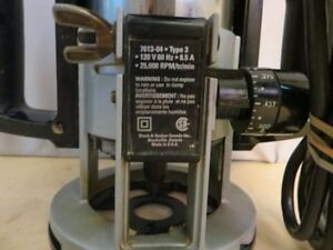"""Black and Decker 3/8"""" Type 3 Router London Ontario image 3"""