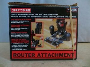 Craftsman Router Attachment London Ontario image 1