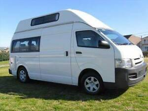 2007 Toyota Hiace Five Person Automatic Campervan -  Botany Botany Bay Area Preview