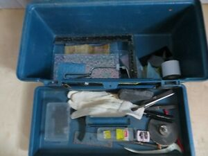 Tool Box with Miscellaneous Stained Lamp Shade Tools London Ontario image 5