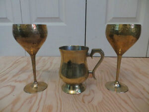 Brass Glasses / Cups London Ontario image 2
