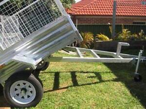 NEW 6X4 Galvanized  Box Trailer New Wheels, Tyres + 12mths Blue Haven Wyong Area Preview