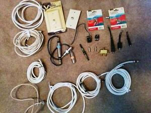 Coax cables and accessories