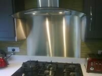 Splashbacks stainless steel