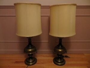2 Night Stand Table Lamps London Ontario image 1