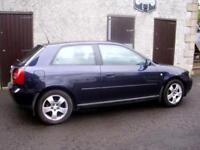 Breaking Audi A3 1.6 Sport for parts, many parts similar to A4, VW Golf, Bora, Beetle, Seat Leon,