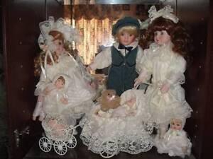 porcelain doll collection Duncraig Joondalup Area Preview