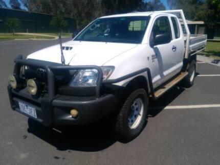 2009 Toyota Hilux SR Extra Cab, steel tray. EC Seymour Mitchell Area Preview