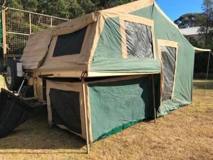 Trak Shak off road camper trailer Dalmeny Eurobodalla Area Preview