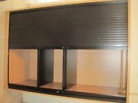 ex work cupboard. LARGE - 1100 1LONG, 1600 HIGH, 465 DEEP
