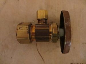 BrassCraft Multi-Turn Compression Angle Stop Valve London Ontario image 1