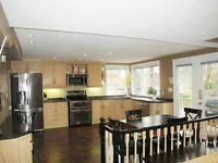 Full Kitchen and pantry cabinets with granite countertops