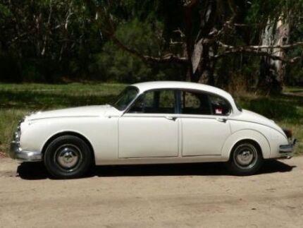 1960 Jaguar MK II Sedan 34 Automatic Extreamly Rare Barn Find
