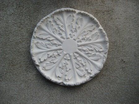 Ceiling rose, Regency Acanthus Leaf design, diameter 43 cm