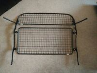 Genuine VW Tiguan Upper and Lower Dog Guard / Rear Partition.