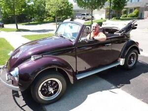 1972 VW Super Beetle Convertible for sale