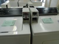 SET OF WASHER DRYER COMMERCIAL COIN OPERATED INGLIS