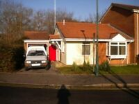 SPACIOUS UNFURNISHED 2 BEDROOM BUNGALOW WITH GARDEN AND GARAGE IN BEAR CROSS