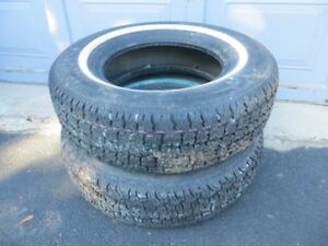 Set of 2 Cientra Steel Belted Tires London Ontario image 1