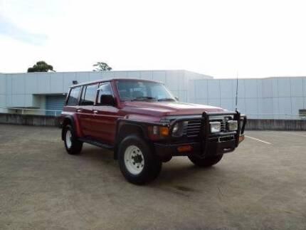 1995 Nissan Patrol GQ HSV VT 5 Litre V8 195KW Parramatta Parramatta Area Preview