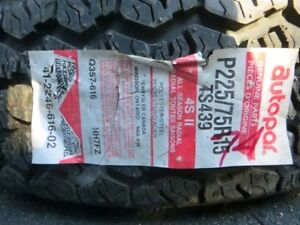 Set of 2 Cientra Steel Belted Tires London Ontario image 7