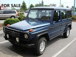 MUST SELL - 1985 Mercedes-Benz G-Wagon
