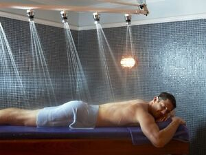 Full body scrub w/steam+Massage+Vichy Shower Only 185$ -for men Cambridge Kitchener Area image 2