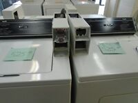 DUO LAVEUSE SECHEUSE PAYANTE / DUO COIN OPERATED WASHER DRYER