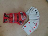 Vintage Coca Cola 1959 Playing Cards