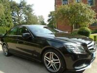 2014 Mercedes-Benz E Class 2.1 E220 CDI AMG SPORT 4DR AUTOMATIC Saloon Diesel Au