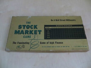 The Stock Market Board Game