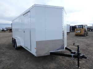 7 X 16 BY WELLS CARGO - LOADED W/OPTIONS FOR ONLY $6,299 TAX IN!