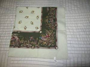Ladies Silk geese/bird/duck  feature scarf. Perfect condition. Bald Hills Brisbane North East Preview