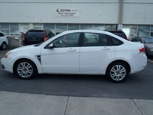 2008 FORD FOCUS SES. LIMITED. Cuir/Leather interior