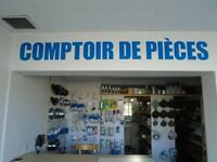 VENTE DE PIECE NEUF ET USAGER / PARTS SALE NEW AND USED
