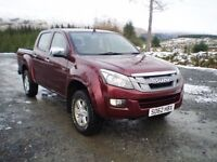 Isuzu D-max Eiger Double Cab Pick Up - 1 owner from new - full service history - Bargain!