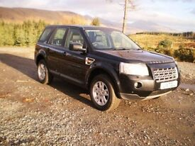 2007 Freelander XS TD4 AUTOMATIC - 12 months warranty, 12 months m.o.t, serviced and chassis treated